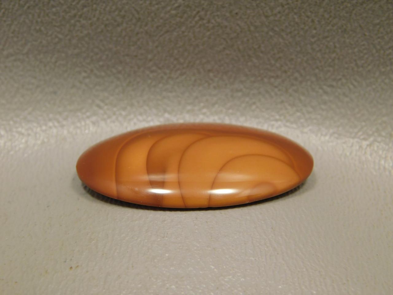 Porcelain Orb Bruneau Picture Jasper Cabochon Stone Oval #22