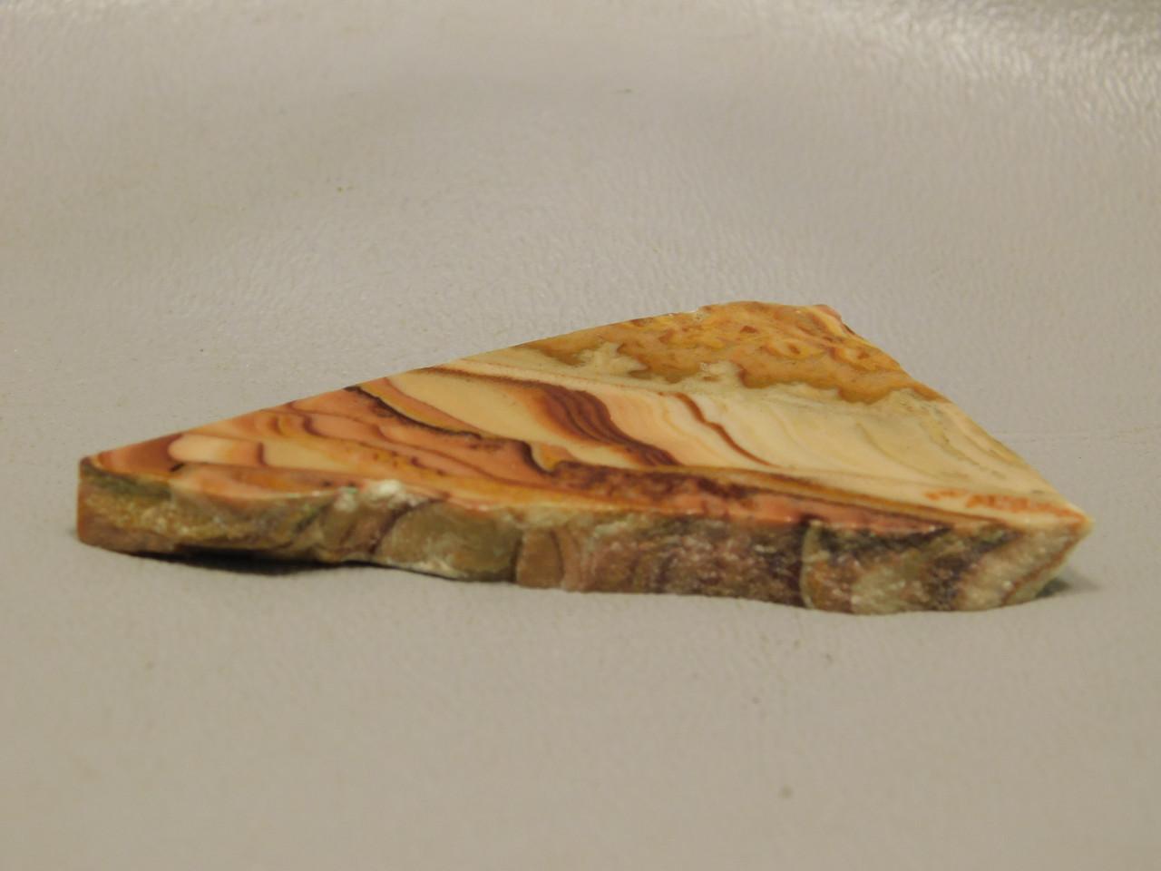 Wave Dolomite Natural Freeform Shaped Slab Cabochon #S6
