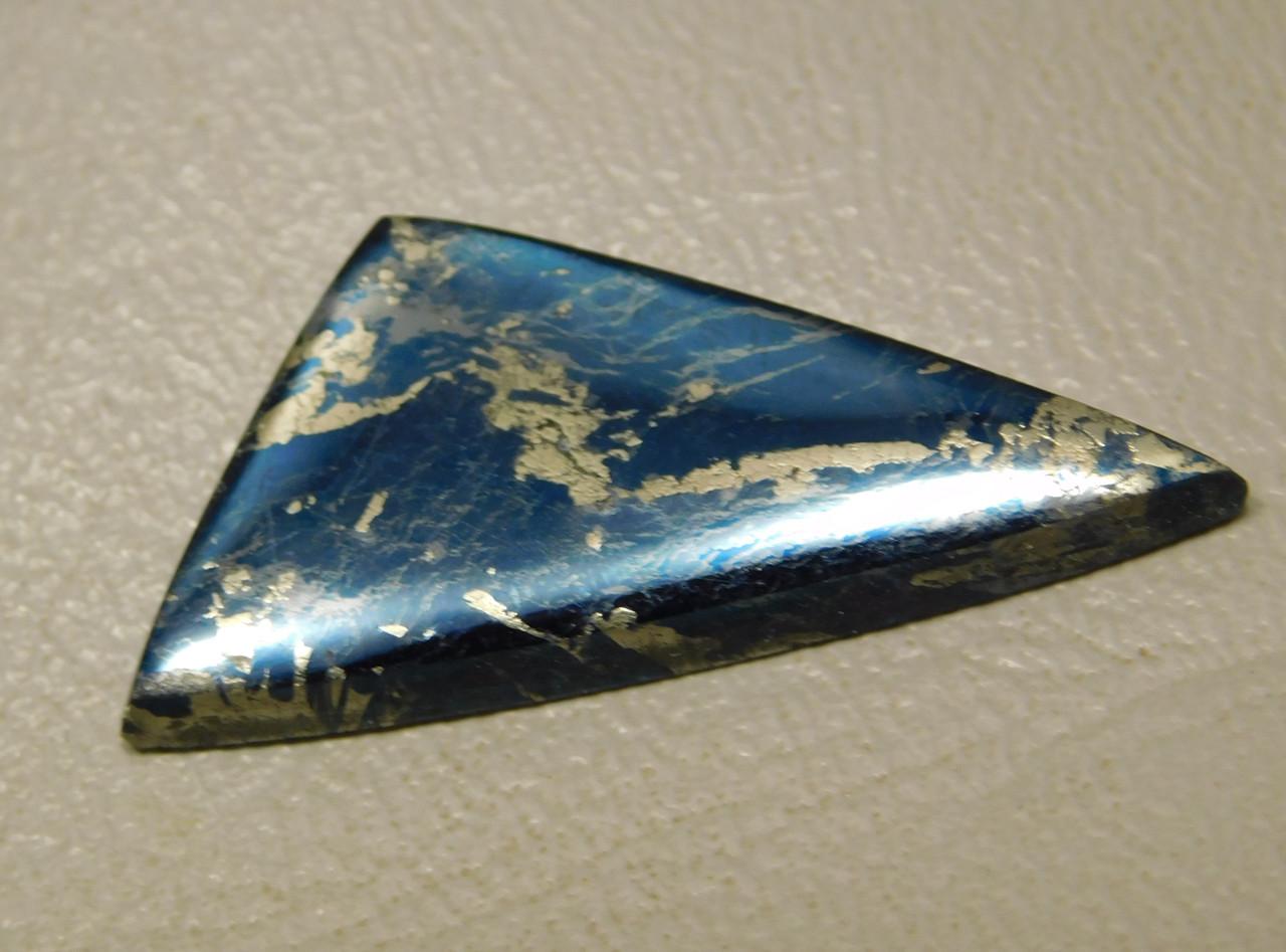 Covellite Designer Cabochon Blue Semi Precious Stone #21
