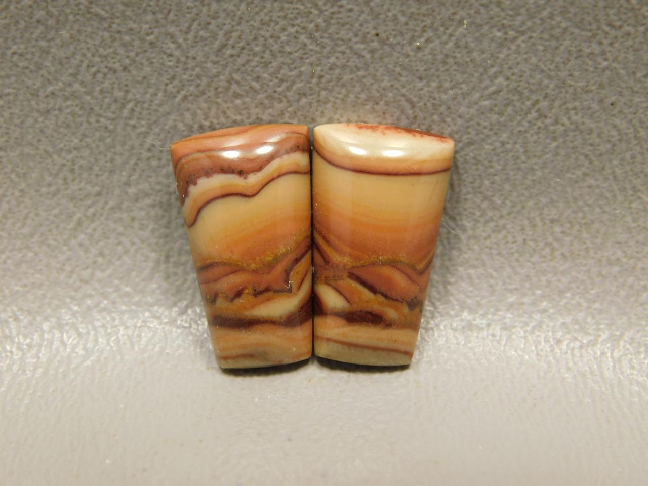 Stones Cabochons Wave Dolomite Pairs Stromatolites #11