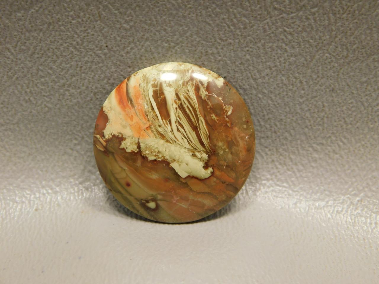 Carrasite Jasper Stone Cabochon 25 mm Round Jewelry Making #10