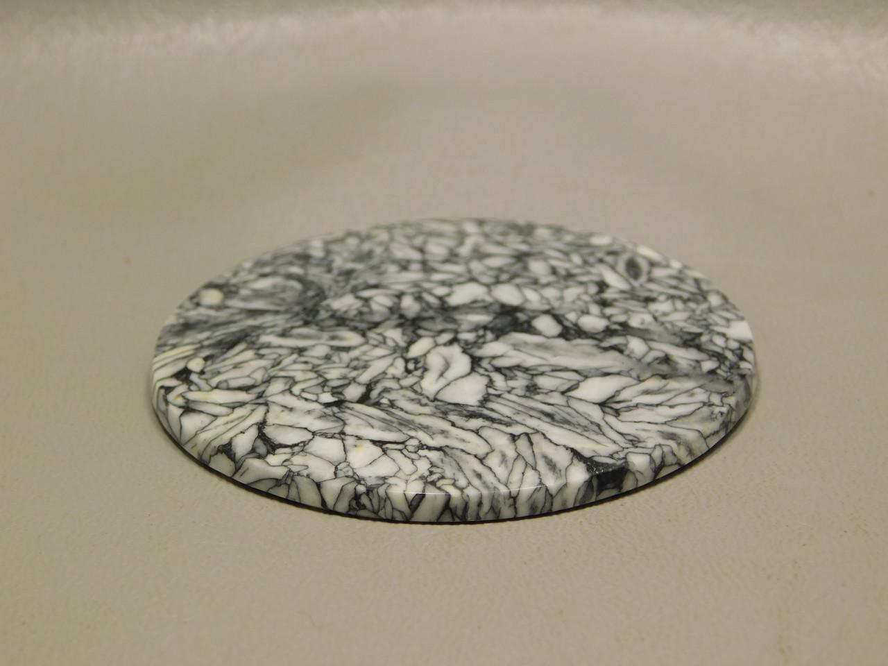 Pinolith or Pinolite Collector Gemstone Large Round 61 mm Cabochon #xl3