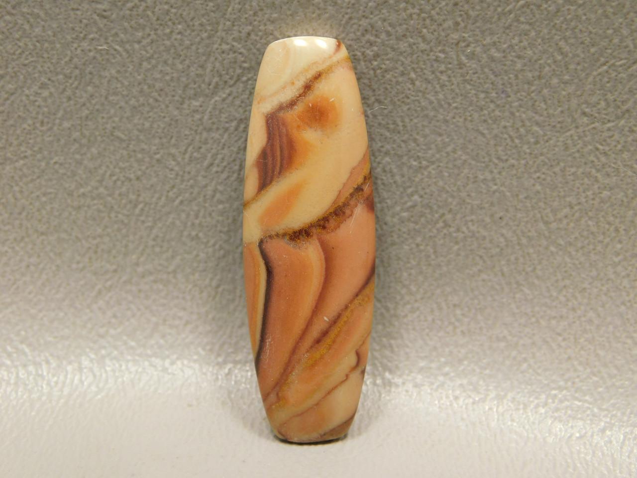 Semi Precious Stone Cabochon Wave Dolomite Rolling Hills #13