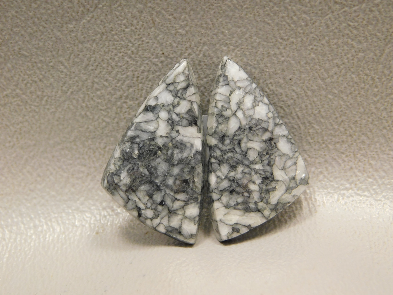 Pinolith or Pinolite Magnesite Matched Pairs Stones Cabochons #2