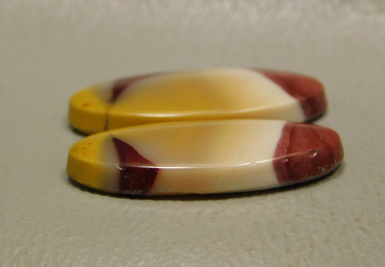 Mookaite Cabochons Mook Jasper Matched Pair Stones #15