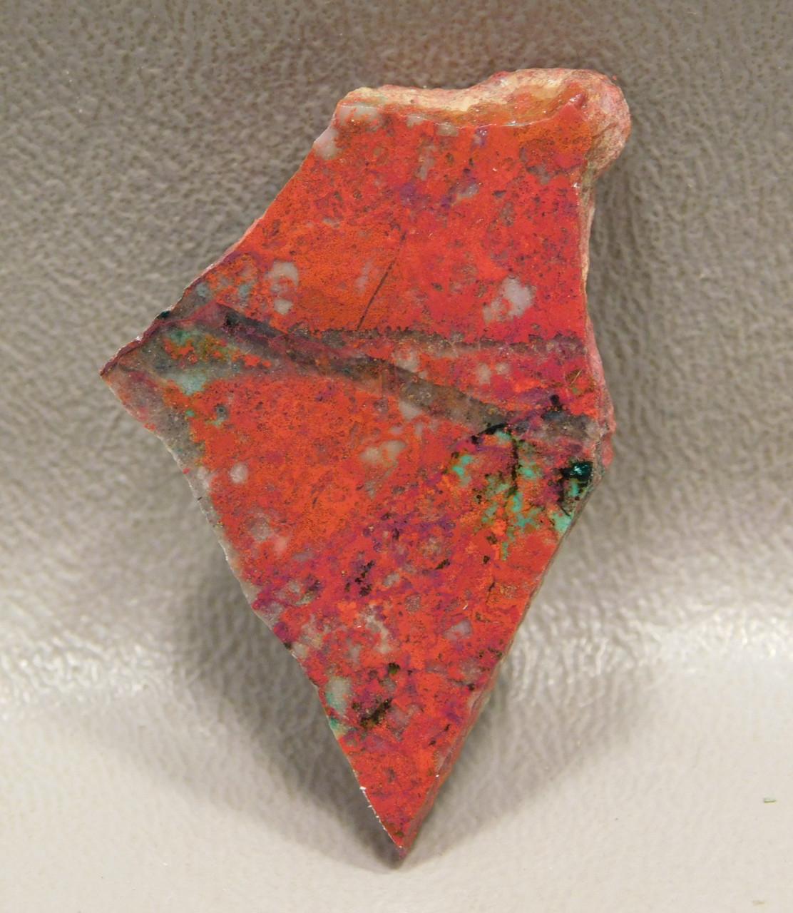 Sonoran Sunrise Polished Slab Natural Stone Crimson Cuprite #S7