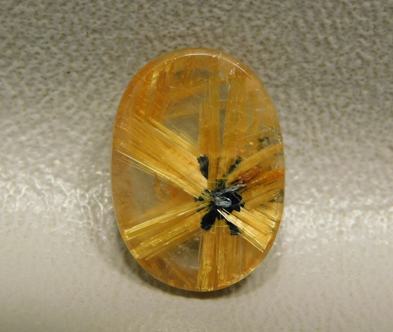 Star Rutile Quartz Rutilated Gemstone Cabochon #SRQ2