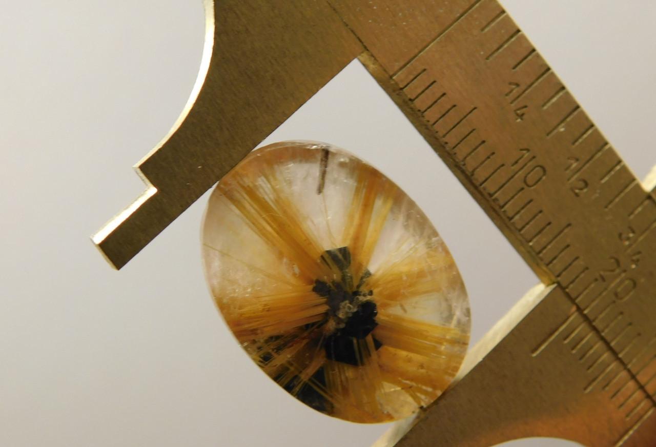 Star Rutile Quartz Rutilated Oval Designer Stone Cabochon #SRQ16