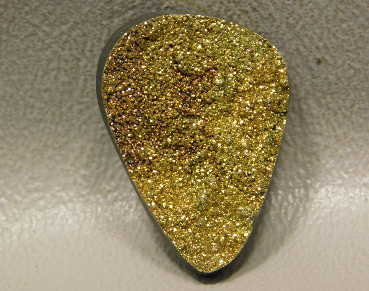 Rainbow Pyrite Small Stone Cabochon Wire Wrapping Supplies #5