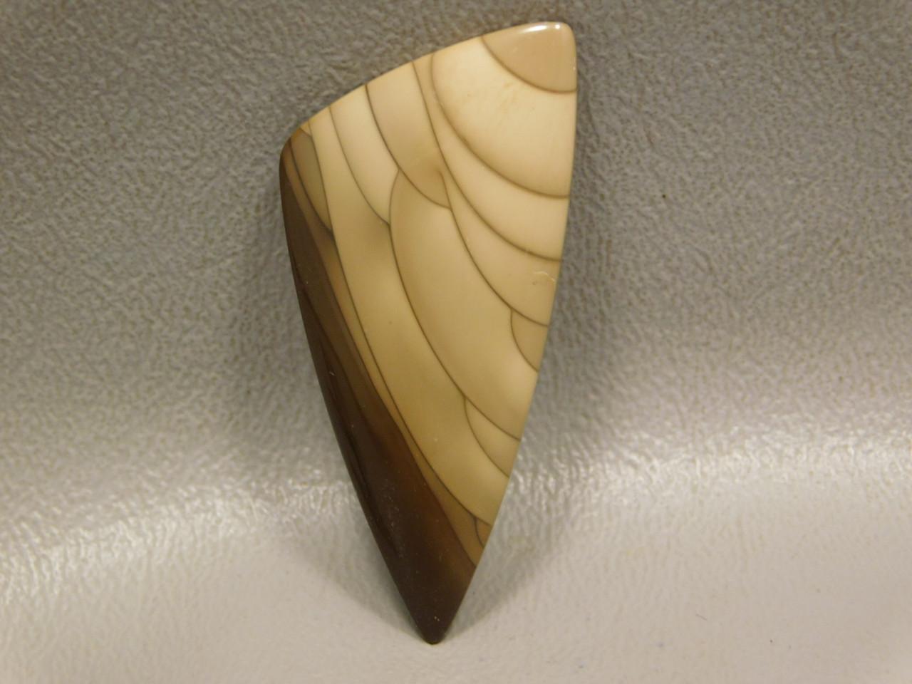 Stone Bruneau Jasper Designer Cabochon Semiprecious Gemstone #16