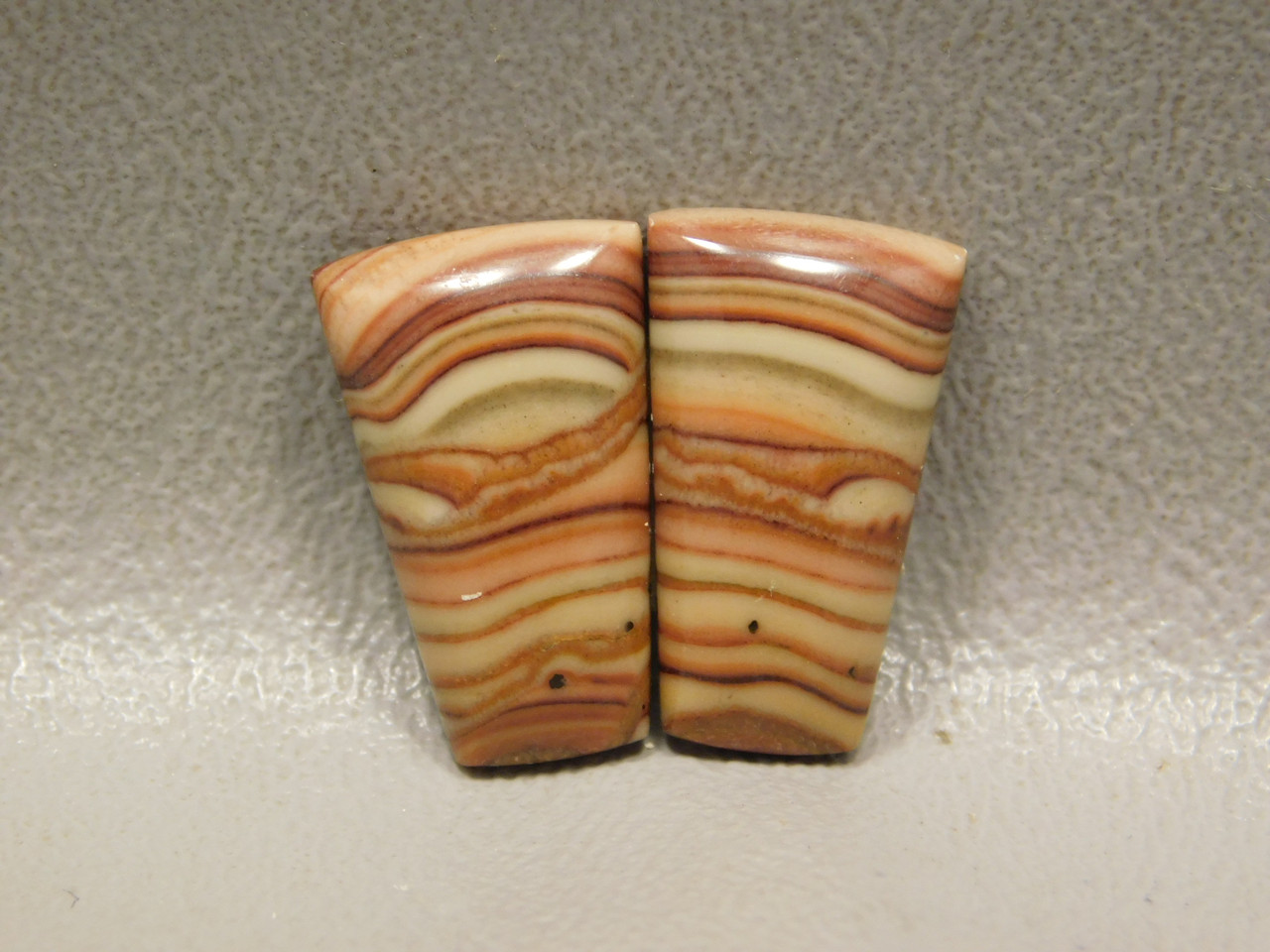Wave Dolomite Loose Stone Cabochons Matched Pairs #5