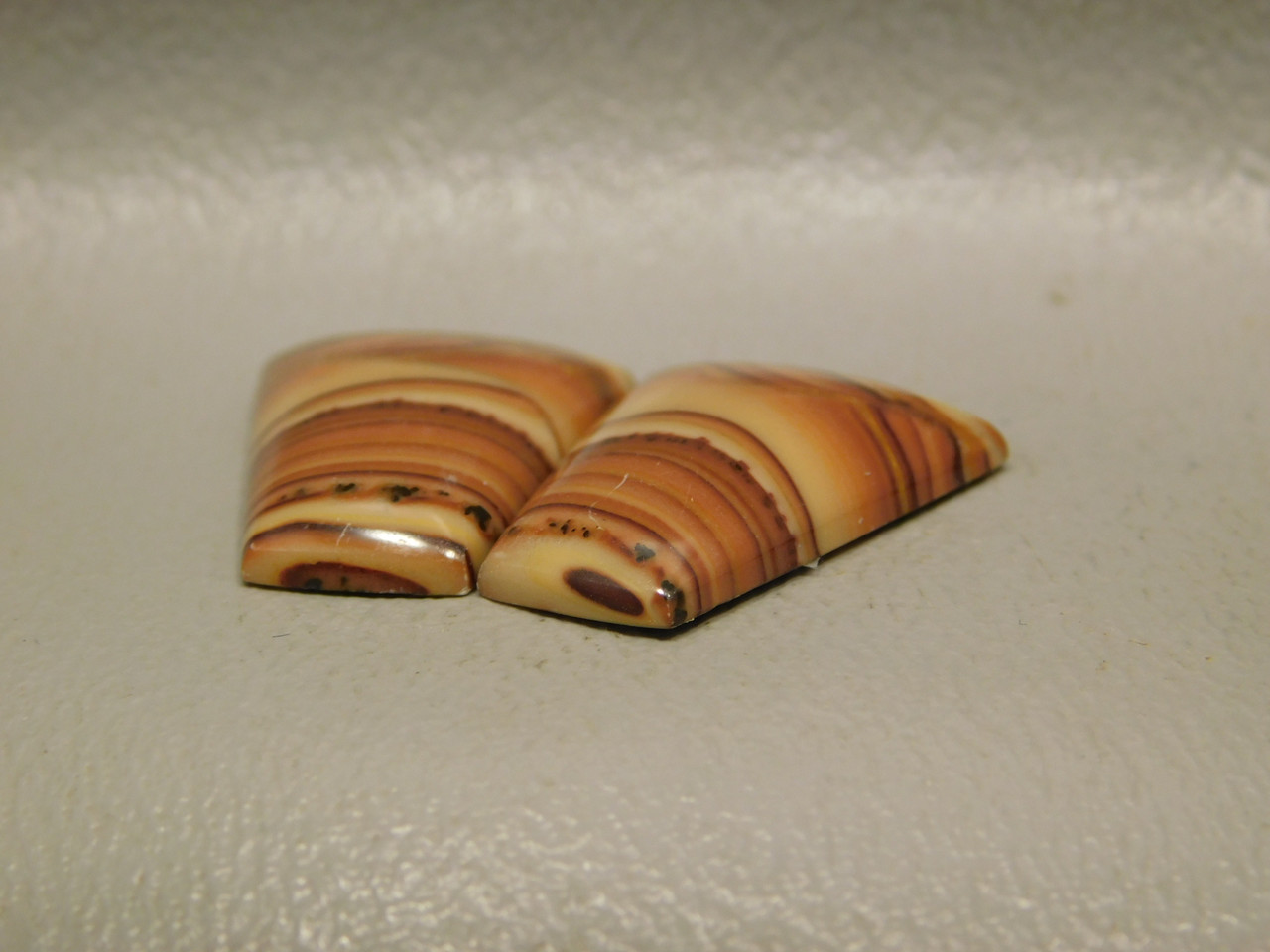 Wave Dolomite Semiprecious Stone Cabochons Matched Pairs #21