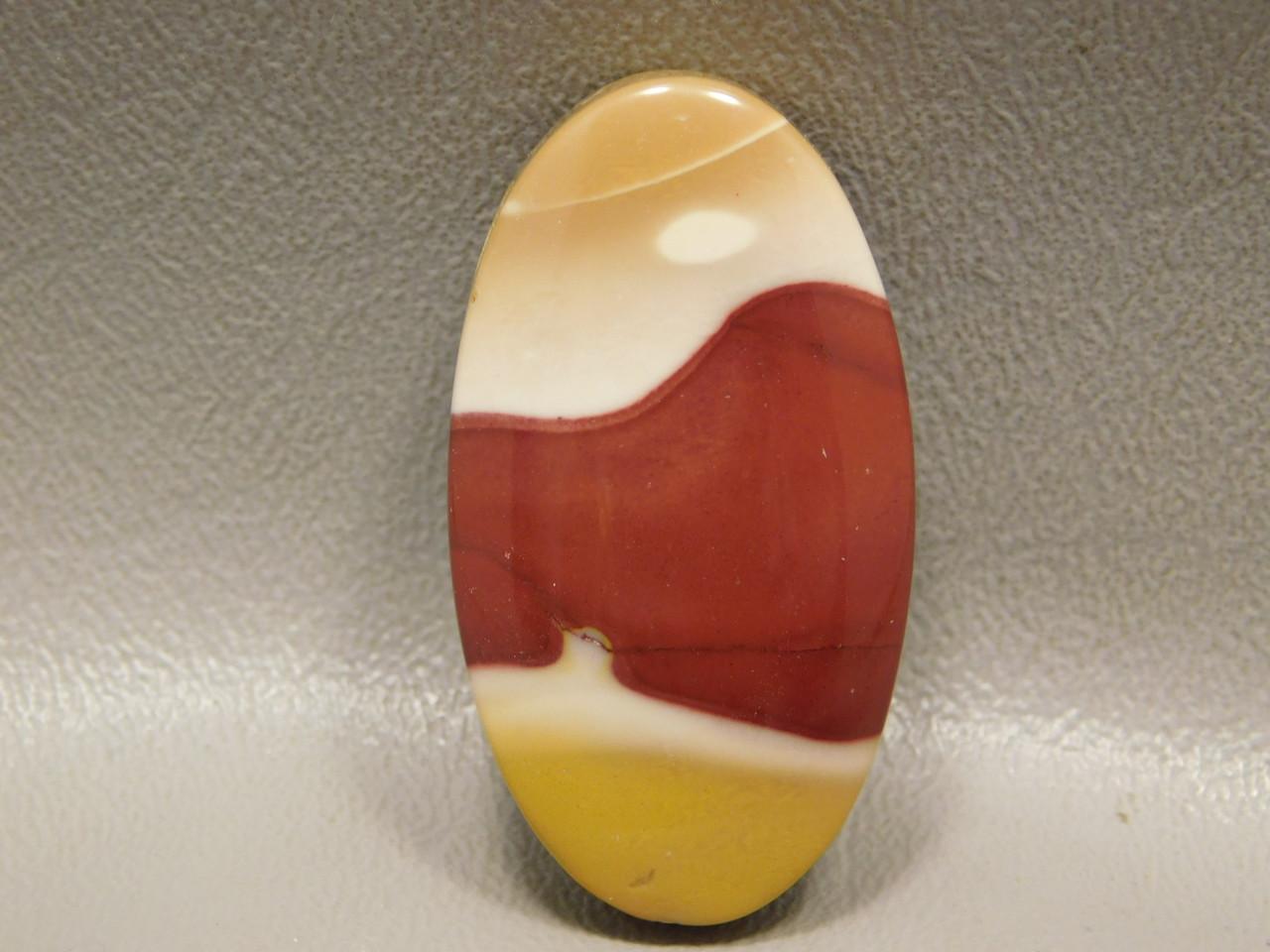 Mookaite Jasper Focal Point Drilled Stone Beading Bead Pendant #10