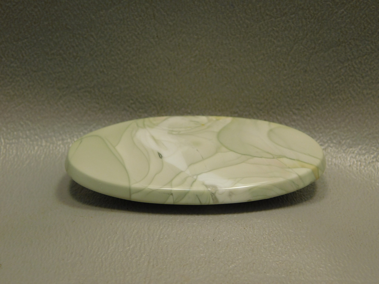 Willow Creek Jasper Oval Designer Cabochon Gemstone Mint Green #14