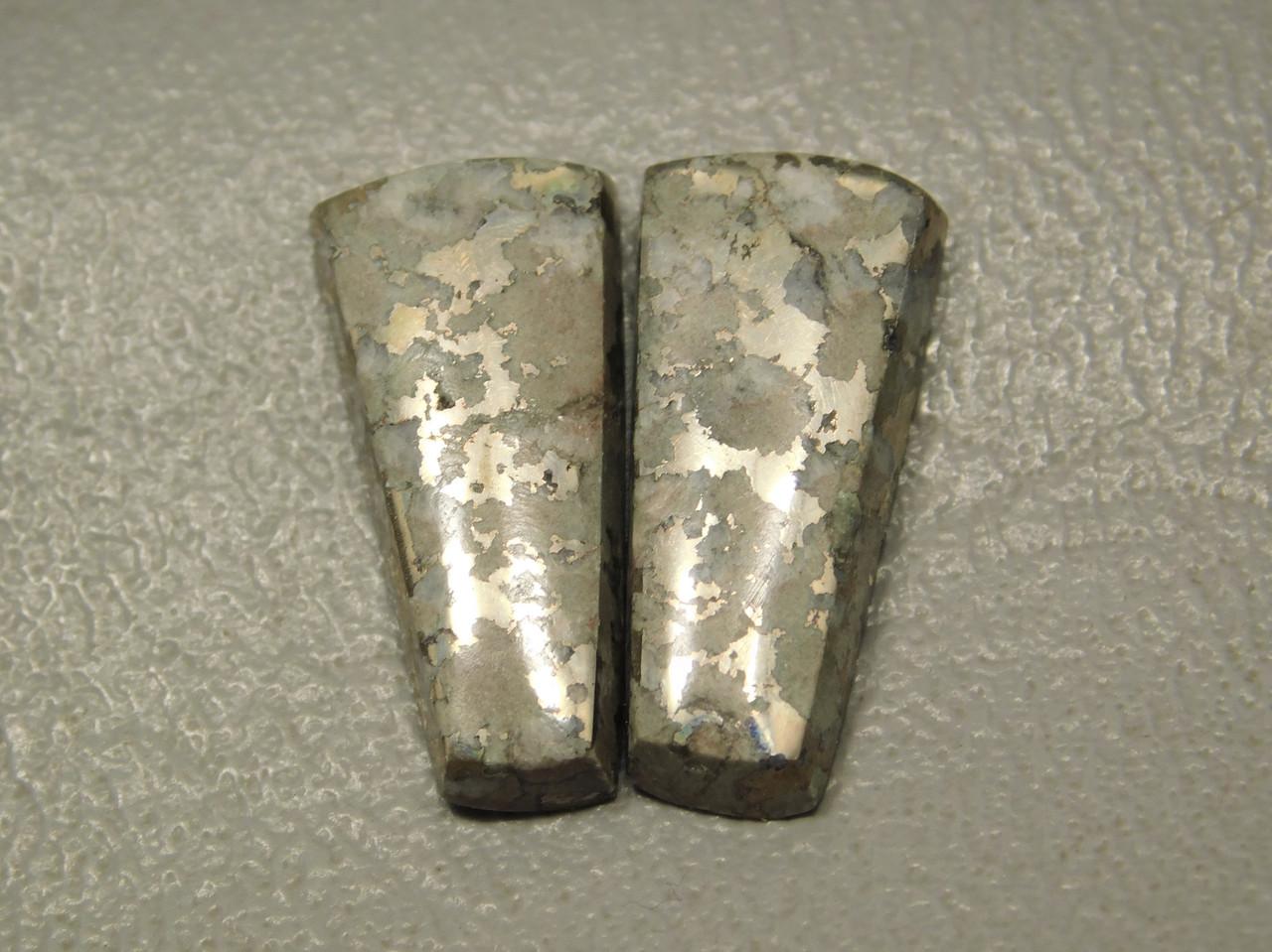 Mohawkite Matched Pair Designer Cabochons Stones #3