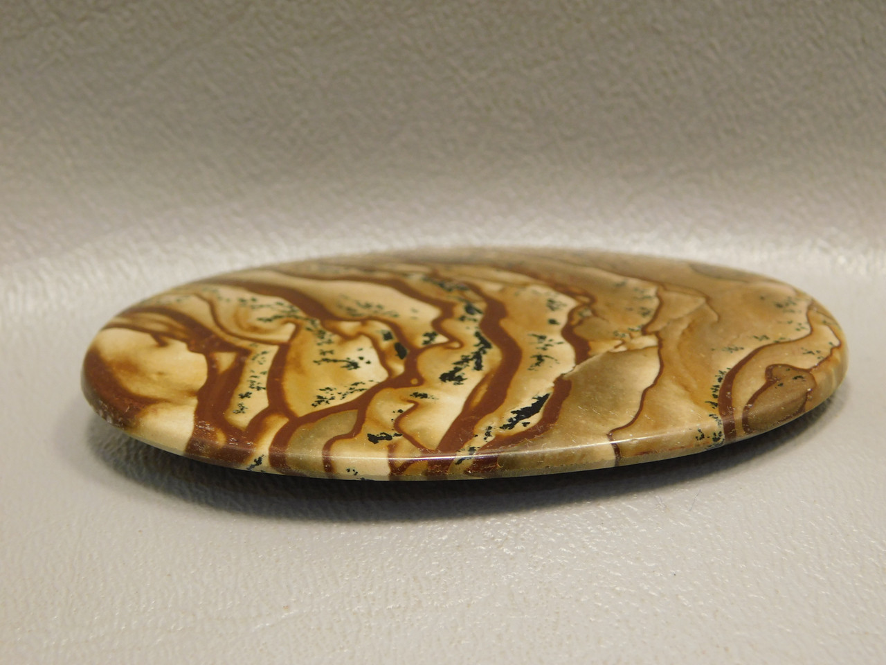 Deschutes Picture Jasper Scenic Cabochon Big Collector Oval #xl2