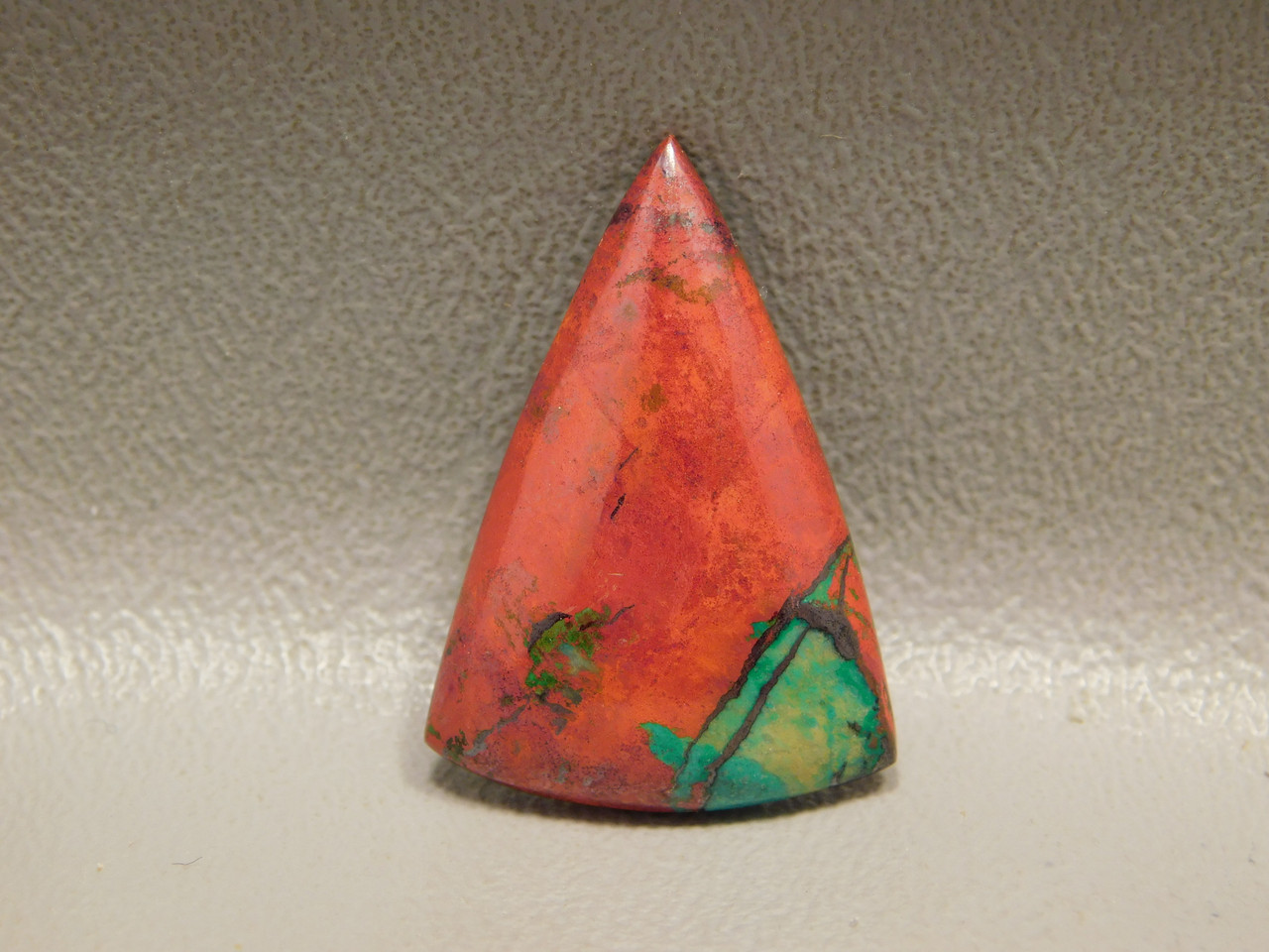 Sonora Sunset Chrysocolla Cuprite Orange Cabochon Loose Stone #3