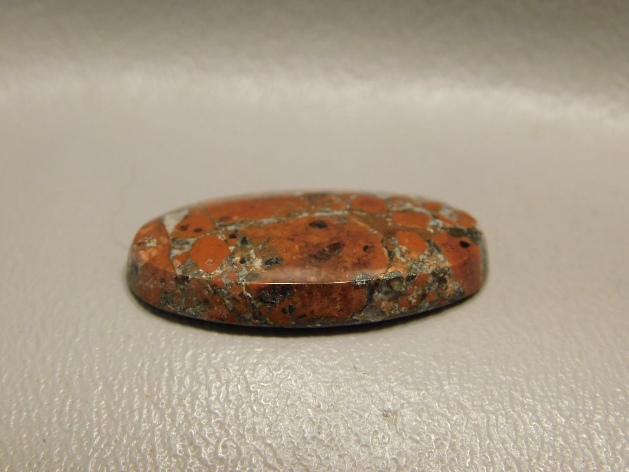 Stone Cabochon Copper Rose Native Copper Red Gemstone #19