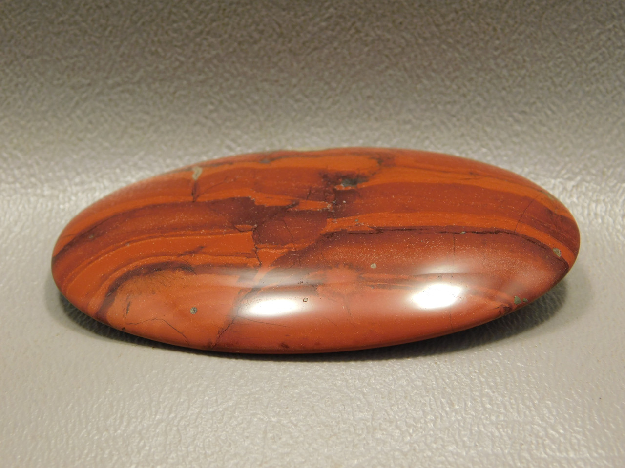 Red Jasper Cabochon Loose Gemstone for Jewelry Making #7