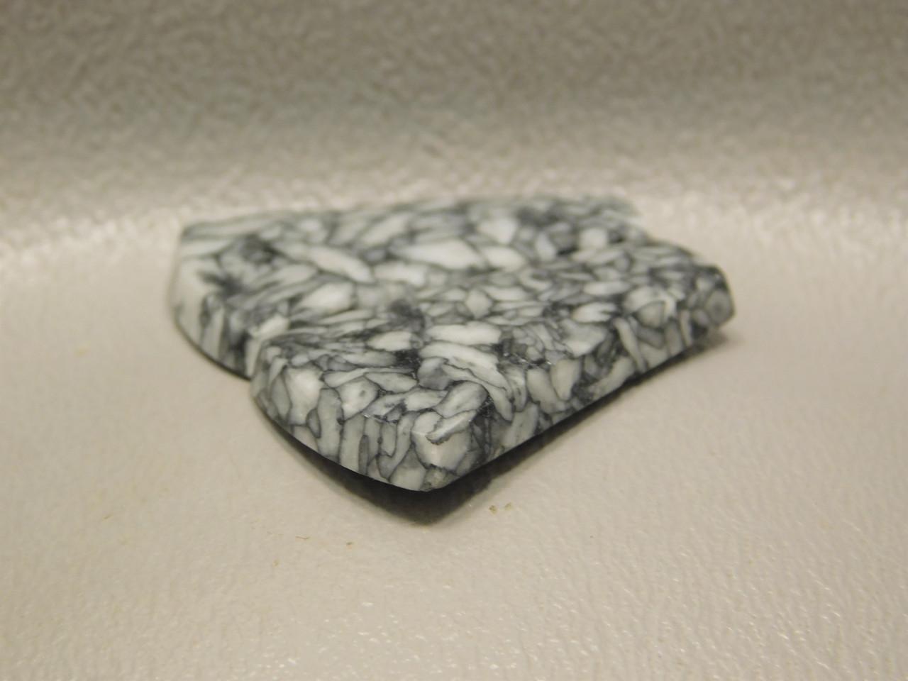 Pinolith Pinolite Austria Matched Pair Stone Designer Cabochons #6