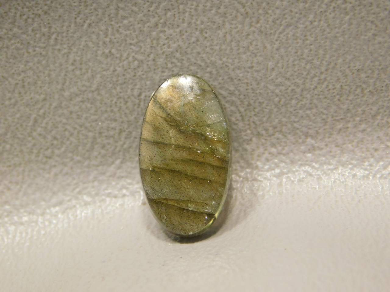 Rainbow Labradorite Cabochon Jewelry Ring Stone #21