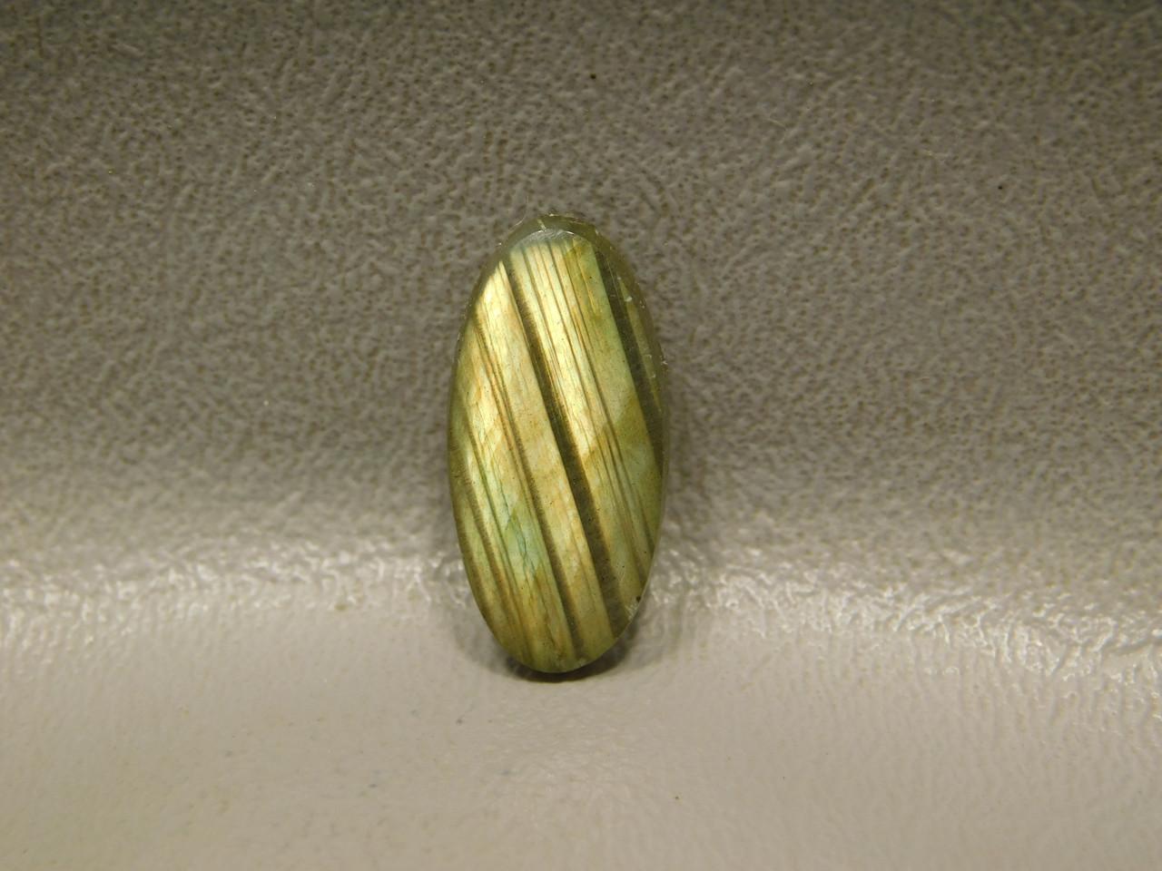 Rainbow Labradorite Cabochon Small Jewelry Ring Stone #19