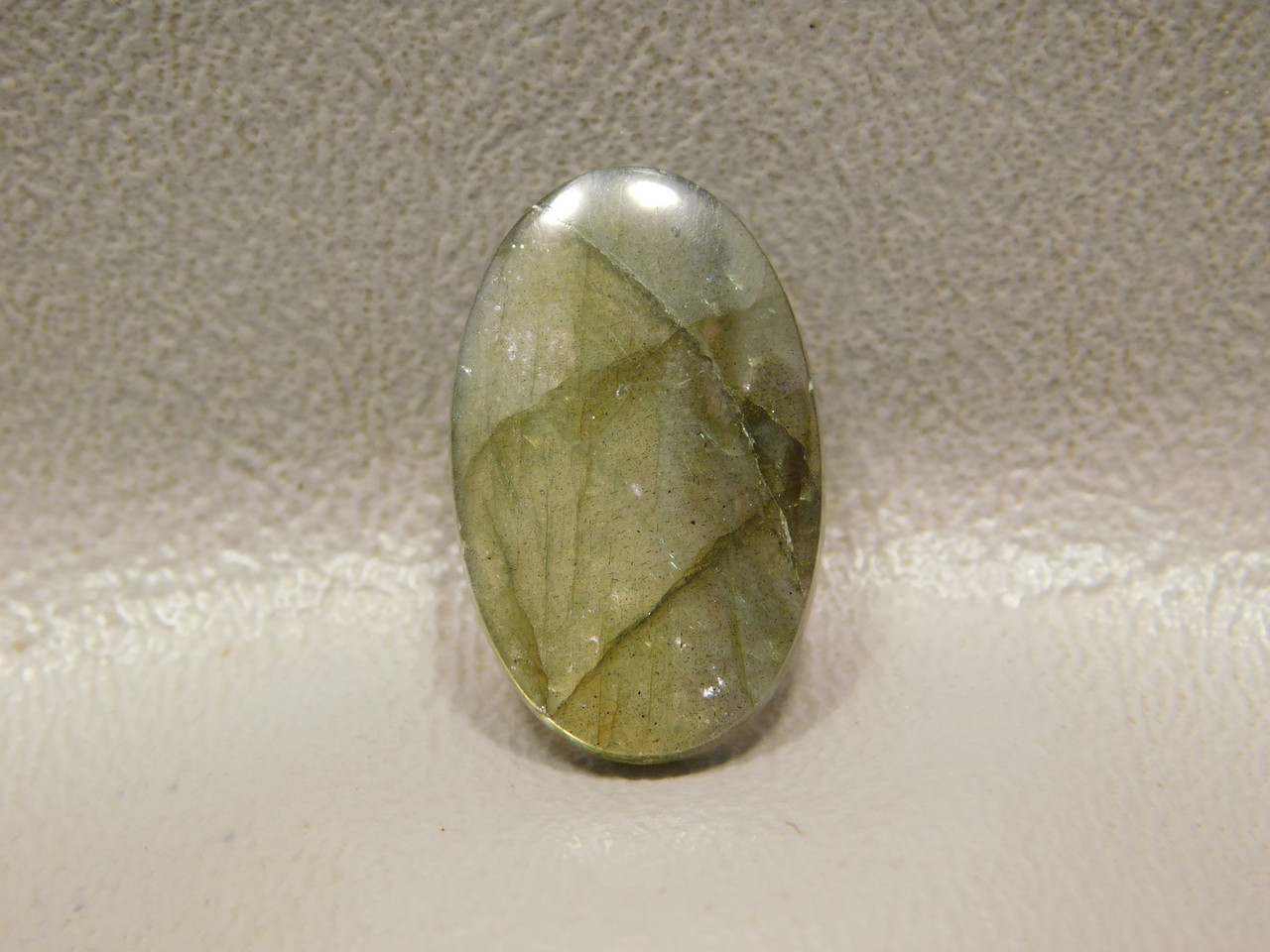 Rainbow Labradorite Cabochon Jewelry Ring Sized Stone #5