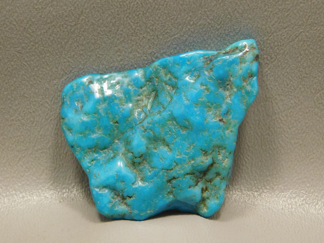 Large Tumble Polished Naco Turquoise Nugget Natural Cabochon #N8
