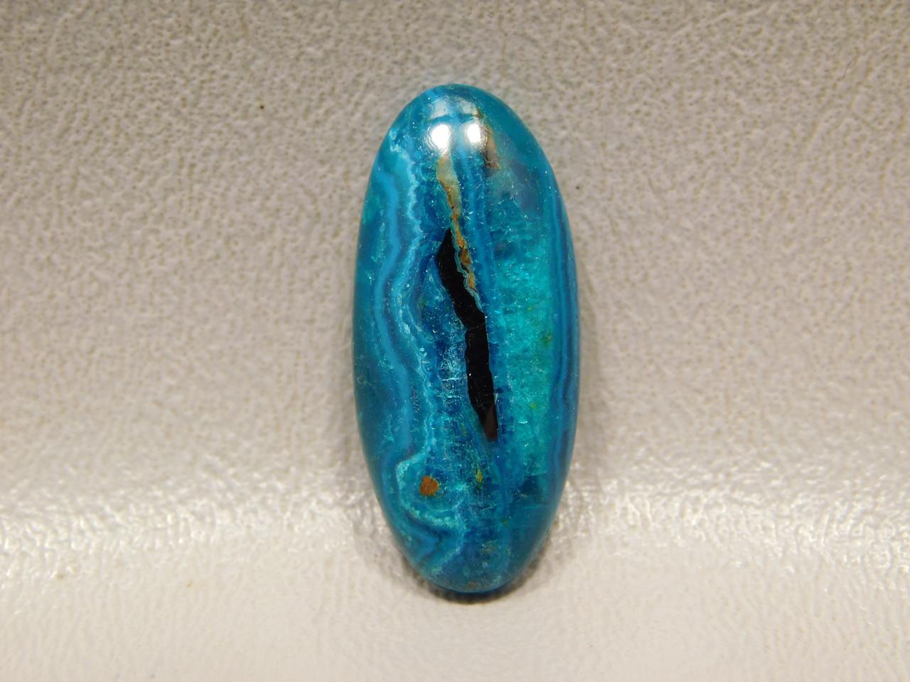 Jewelry Cabochon Chrysocolla Malachite Blue Green Bagdad Stone #7