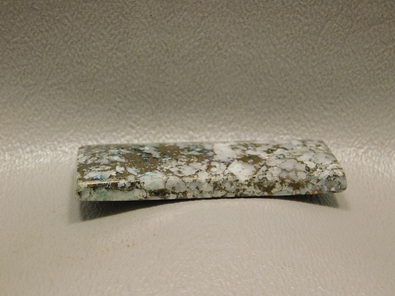 Snowflake Mohawkite Stone Cabochons Rectangle  #1