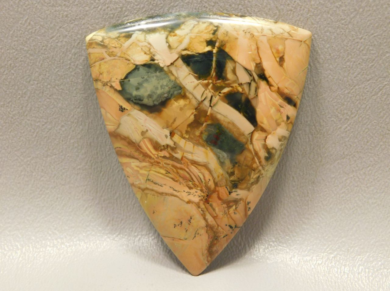 Morrisonite Jasper Large Triangle Collector Designer Cabochon #xl4