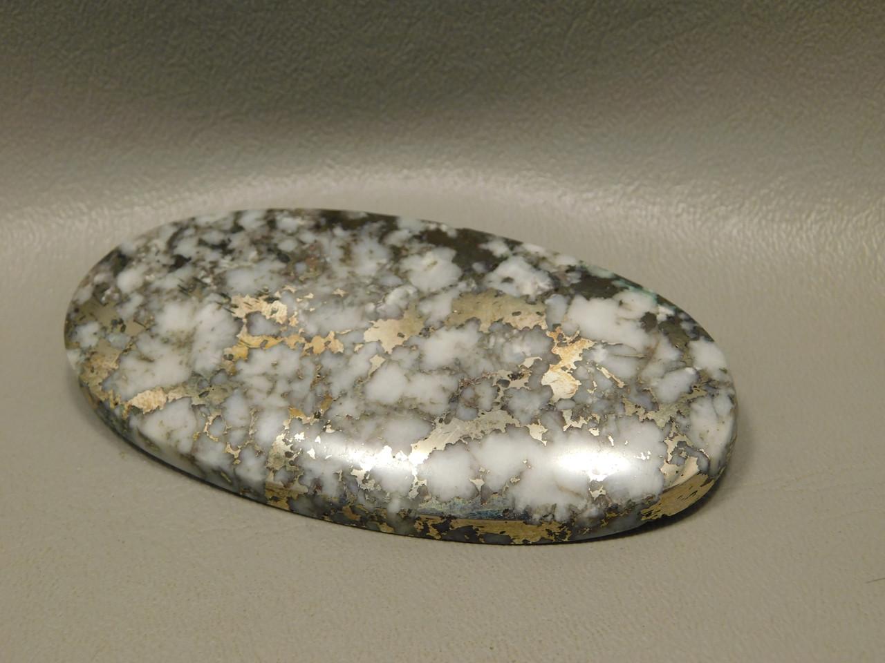 Mohawkite 3.5 inch Large Collector Designer Cabochon Stone #XL2