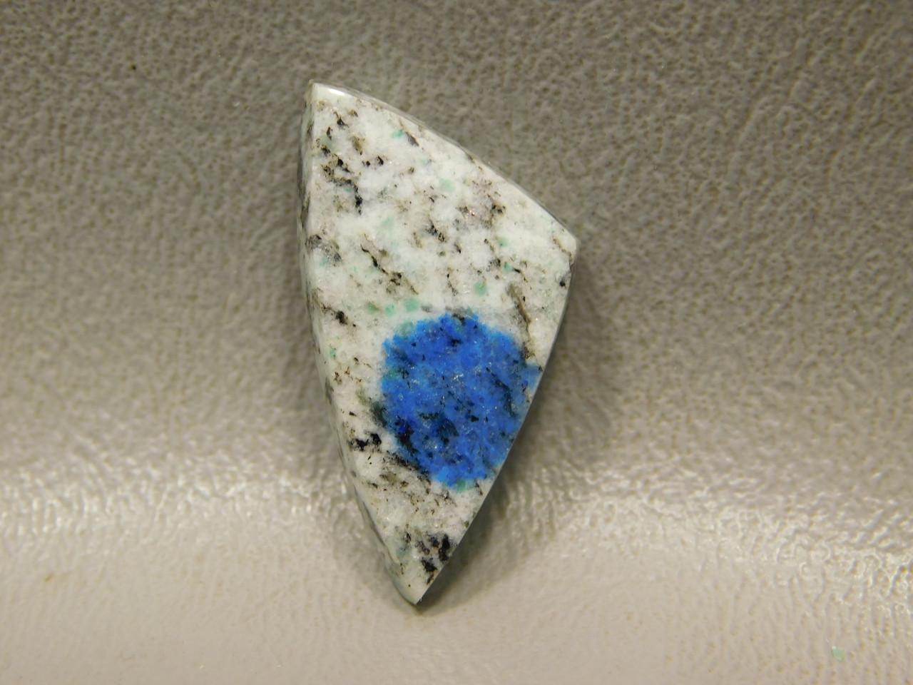 K2 Azurite Blue Dot Granite Jasper Jewelry Cabochon Stone #5