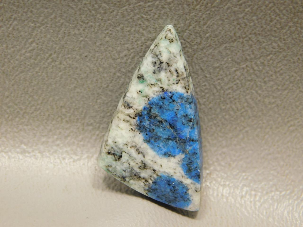 Cabochon K2 Azurite Granite Jewelry Making Semi Precious Stone 13