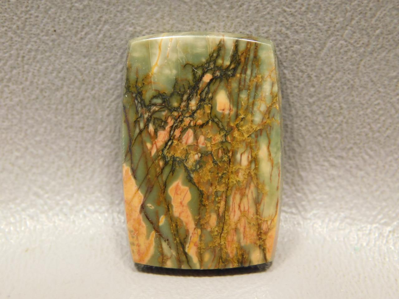 Cherry Creek Jasper Cabochon Semiprecious Stone Rectangle #9