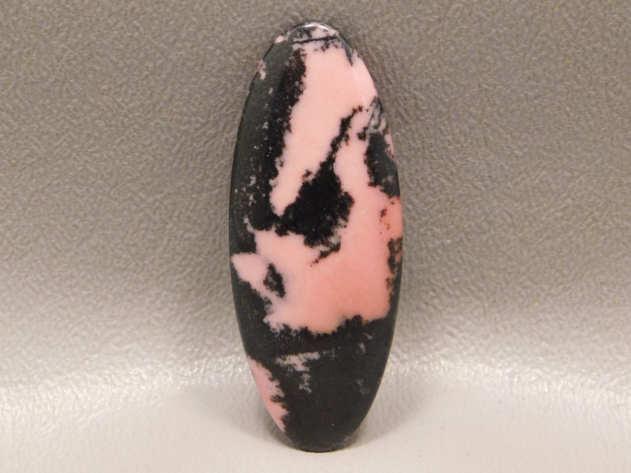 Cabochon Jewelry Loose Stone Rhodonite Pink Oval Australia #16