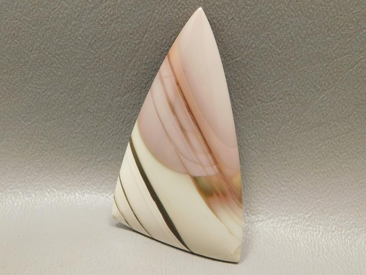 Imperial Jasper Large Triangle Collector Cabochon Fine Stone #XL30