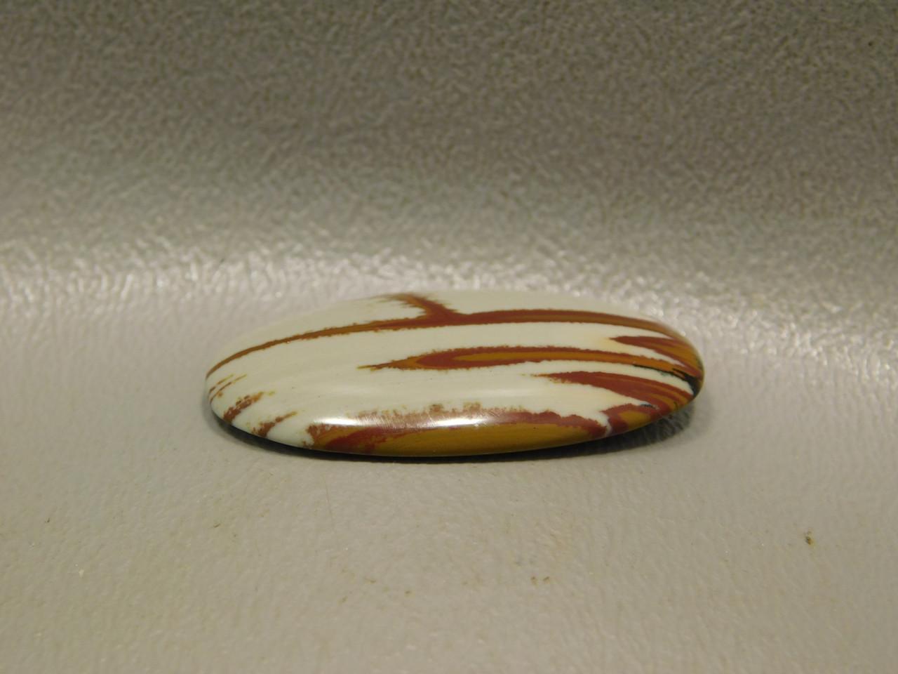 Stone Cabochon Oval Rare Red Scenic Owyhee Jasper #20