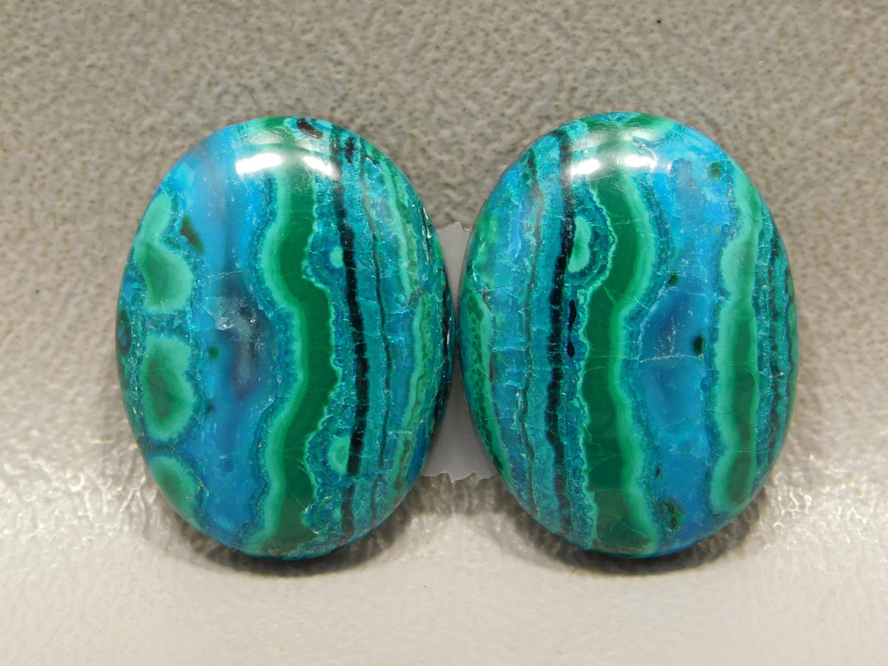 Chrysocolla Malachite High Grade Stones Blue Green Cabochons #25