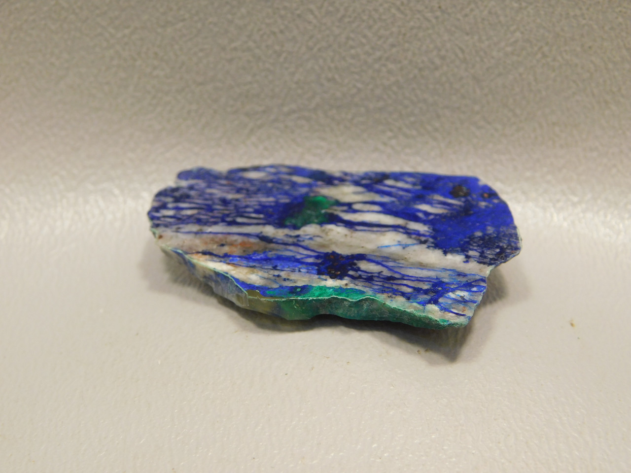 Azurite Malachite Cabochon Natural Shaped Small Polished Stone Slab #S5