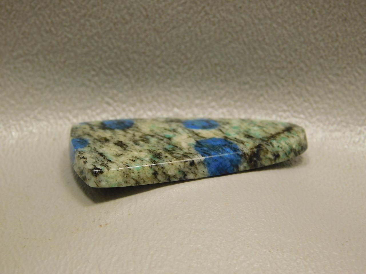 Cabochon K2 Blue Spotted Gray Stone Semi Precious Gemstone 10