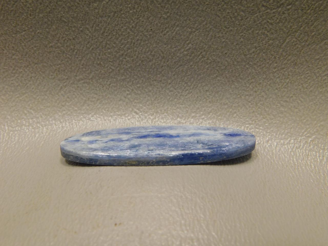 Blue Kyanite Jewelry Design Loose Stone Cabochon #12