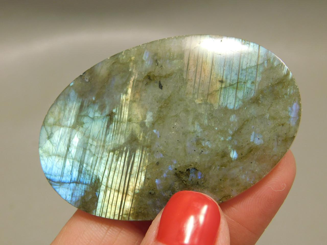 Labradorite Cabochon Semi Precious Gemstone Designer Stone  #1