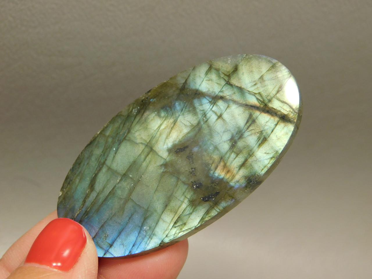 Labradorite Cabochon Semi Precious Gemstone Designer Stone #4