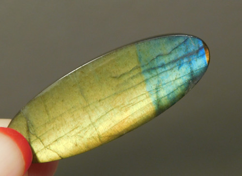 Spectrolite Cabochon Semi Precious Gemstone Designer Stone 1