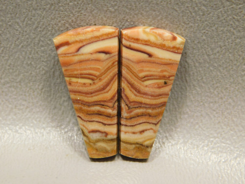 Wave Dolomite Cabochon Matched Pair Loose Stone #2
