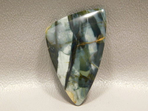 Morrisonite Jasper Blue Triangle Stone Cabochon #17