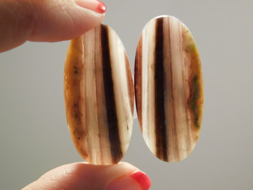 Candy Opal Matched Pairs Large Ovals Cabochons Stones #15