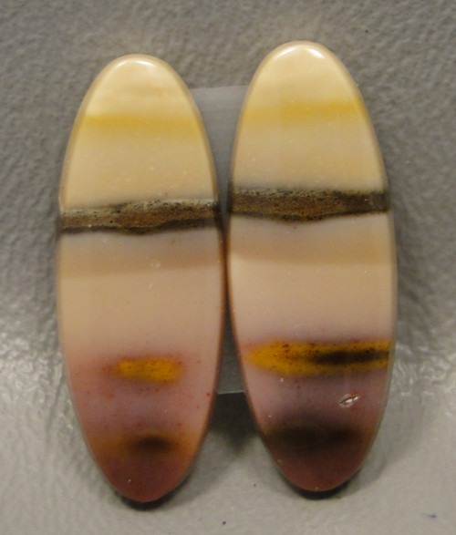 Mookaite Jasper Matched Pair Cabochons #17