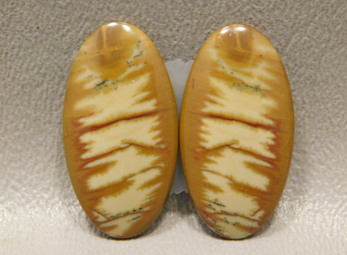 Owyhee Jasper Matched Pair Cabochons for Earrings #10
